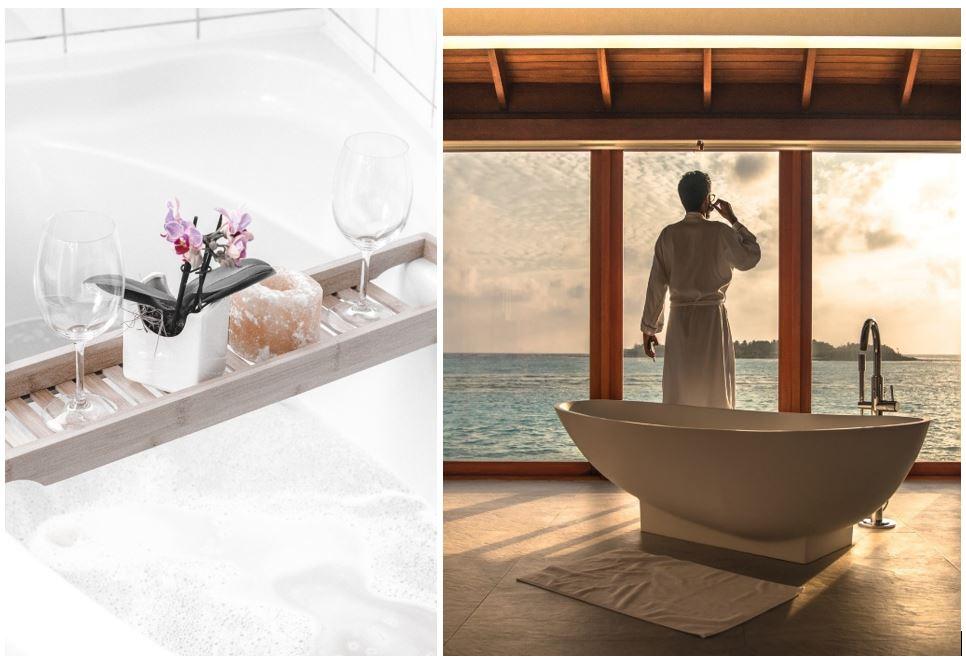 Bad og Prosjekt - Gjør badet til et hjemmespa